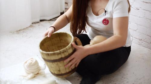 Curso de fotografía newborn online: Posicionamiento en cubos o props