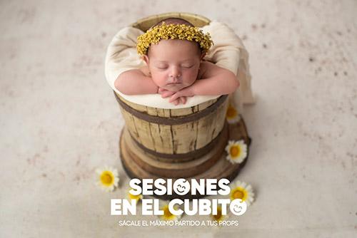 Curso fotografía newborn en cubo o drop