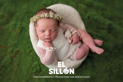 Curso de fotografía newborn online: Posicionamiento en silla