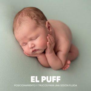 Transiciones en el puff. Curso de fotografía newborn online